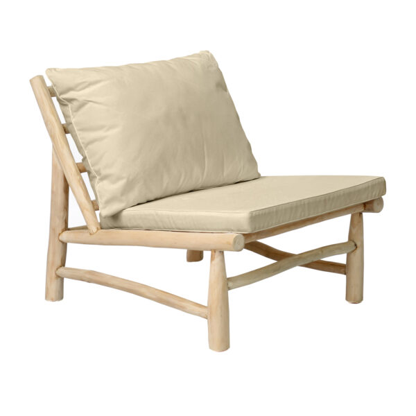 The Island One Seater - Natural